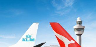 KLM e Qantas annunciano un nuovo accordodi code-sharing