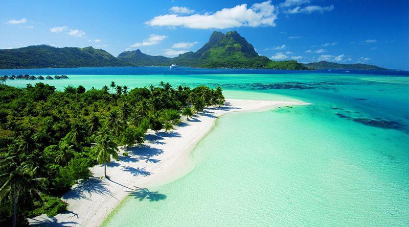 Réunion, Bora Bora, Guadalupa, Martinica