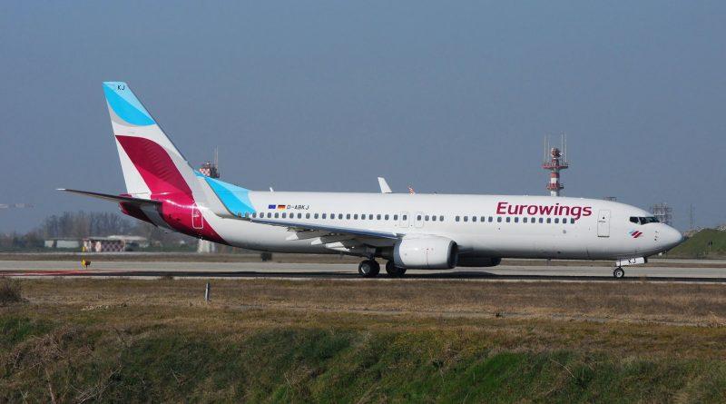 Eurowings  – Nuove destinazioni Estate 2020